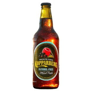 Kopparberg Premium Cider Alcohol-Free with Mixed Fruit 500ml (Case of 8)