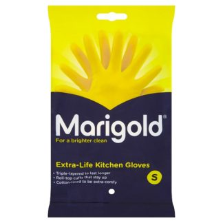Marigold Extra-Life Kitchen Gloves Small (Case of 6)