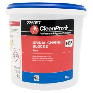 Clean Pro+ Blue Urinal Channel Blocks H32 3kg