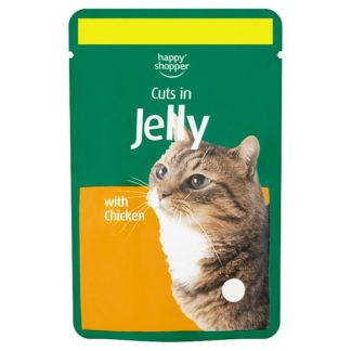 Happy Shopper Cuts in Jelly with Chicken 100g (Case of 24)