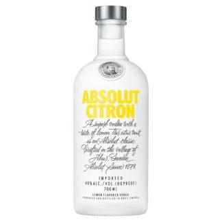 Absolut Citron Lemon Flavoured Vodka 70cl