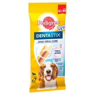 Pedigree Dentastix Daily Medium Dental Dog Chews 7 Stick 180g (Case of 5)