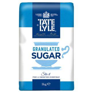 Tate & Lyle Granulated Cane Sugar 1kg (Case of 15)