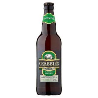 Crabbie's Original Alcoholic Ginger Beer 500ml (Case of 12)