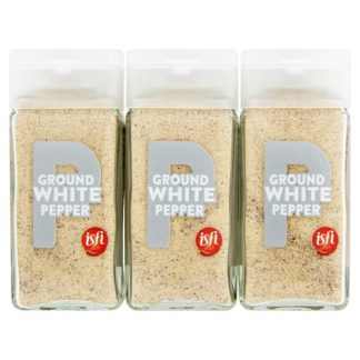 Isfi Spices Ground White Pepper 6 x 43g (Case of 6)