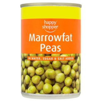 Happy Shopper Marrowfat Peas 300g (Drained Weight 180g) (Case of 12)