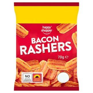 Happy Shopper Bacon Rashers 70g (Case of 16)