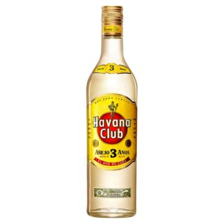 Havana Club 3 Year Old White Rum 70cl