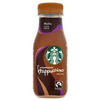 Starbucks Fairtrade Frappuccino Coffee Drink Mocha 250ml (Case of 8)