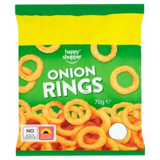 Happy Shopper Onion Rings 70g (Case of 16)