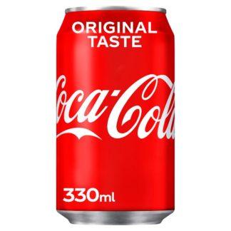 Coca-Cola Original Taste 330ml (Case of 24)