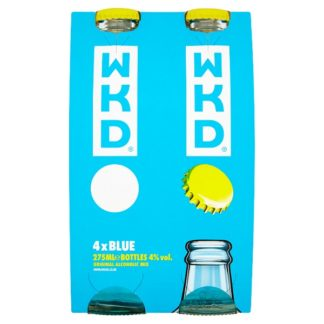 WKD Blue Ready to Drink Multipack 4 x 275ml (Case of 6)