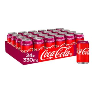 Coca-Cola Cherry 24 x 330ml (Case of 24)