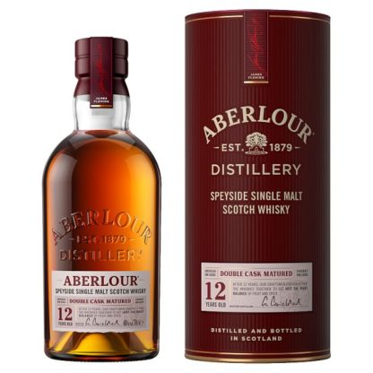 Aberlour Distillery 12 Years Old Speyside Single Malt Scotch Whisky 70cl (Case of 3)
