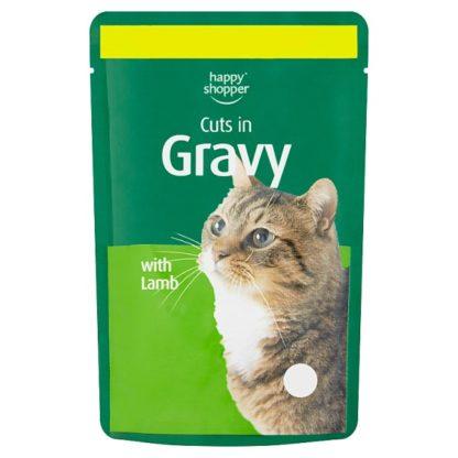 Happy Shopper Cuts in Gravy with Lamb 100g (Case of 24)