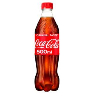 Coca-Cola Original Taste 500ml (Case of 24)