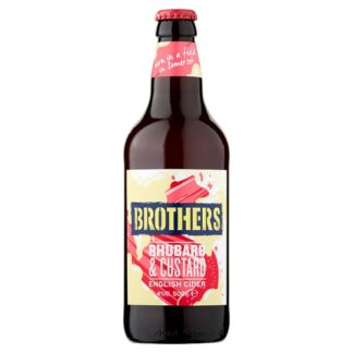 Brothers Rhubarb & Custard English Cider 500ml (Case of 8)