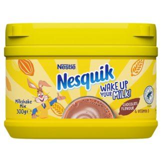Nesquik® Chocolate Milkshake Powder300g Tub (Case of 10)
