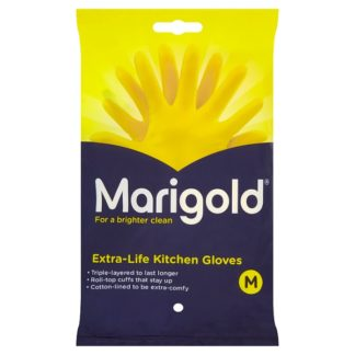 Marigold Extra-Life Kitchen Gloves Medium (Case of 6)