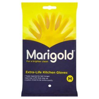 Marigold Extra-Life Kitchen Gloves Medium (Case of 72)