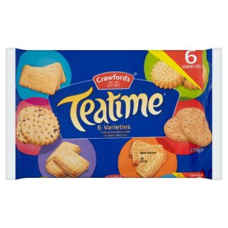 Crawford's Teatime Biscuits 275g (Case of 10)