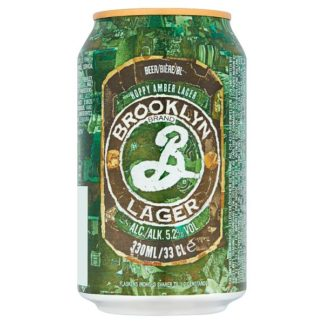 Brooklyn Lager Beer 12 x 330ml (Case of 12)