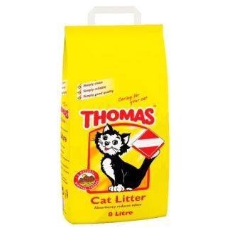 THOMAS Cat Litter 8L (MPP £4.49)