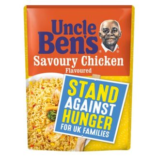 Uncle Bens Savoury Chicken Microwave Rice 250g (Case of 6)