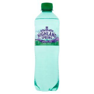 Highland Spring Sparkling Spring Water 24 x 500ml (Case of 24)