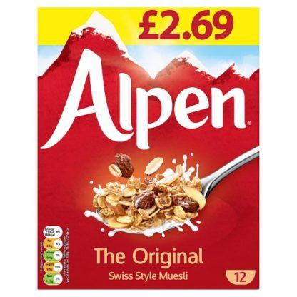 Alpen Muesli Original 550g PMP £2.69 (Case of 6)