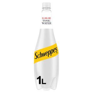 Schweppes Slimline Tonic Water 1L (Case of 6)