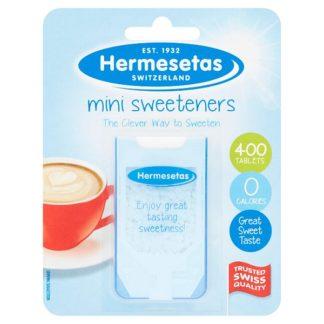 Hermesetas Mini Sweeteners 300 Tablets 3.9g (Case of 12)