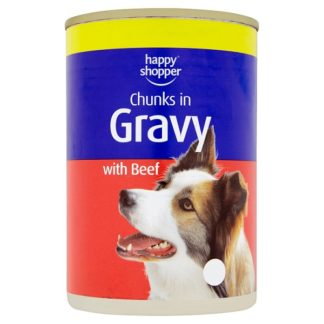 Happy Shopper Chunks in Gravy with Beef 415g (Case of 12)