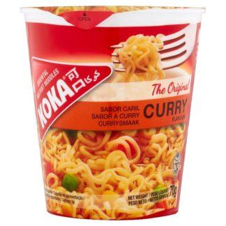 Koka The Original Curry Flavour Oriental Instant Noodles 70g (Case of 96)