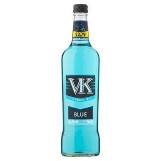 VK Blue Alcoholic Mix 70cl (Case of 6)