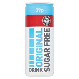 Euro Shopper Original Sugar Free Drink 250ml (Case of 24)