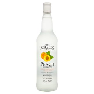Angels Peach Schnapps 70cl (Case of 6)
