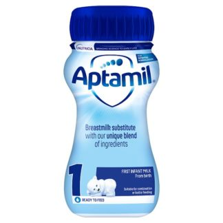 Aptamil 1 First Infant Milk from Birth 200ml (Case of 12)
