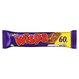 Cadbury Wispa Chocolate Bag 60p 36g