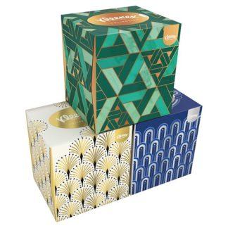 Kleenex® Collection Tissues Cube Single Box