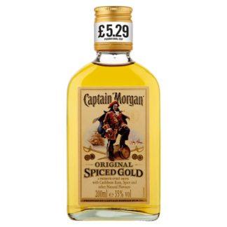 Captain Morgan Original Spiced Gold Rum Based Spirit Drink 20cl PMP £5.29 (Case of 48)