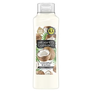 Alberto Balsam Coconut & Lychee Conditioner 350 ml (Case of 6)