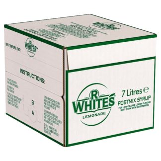 R.White's Lemonade Postmix Syrup 7 Litres