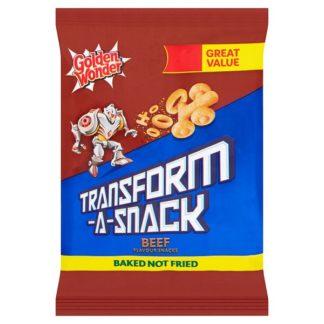 Golden Wonder Transform-A-Snack Beef Flavour Snacks 30g (Case of 30)