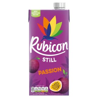Rubicon Passion Exotic Juice Drink 1L, PMP £1.39 or 2 for £2 (Case of 12)