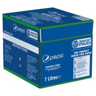 Pepsi Cola Postmix Syrup 7 Litres