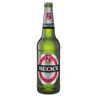 Beck's German Pilsner Beer Bottle 660ml (Case of 12)