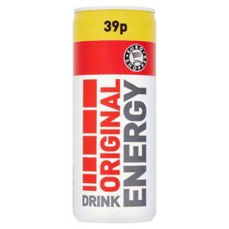 Euro Shopper Original Energy Drink 250ml (Case of 24)