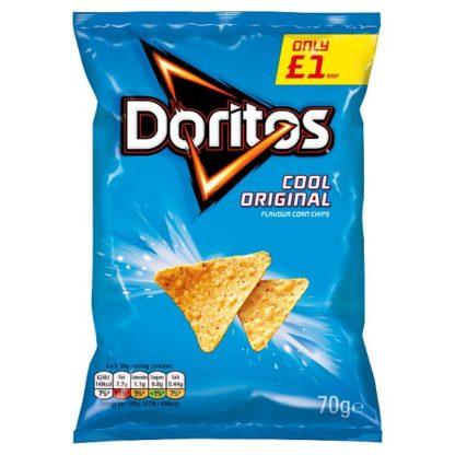Doritos Cool Original Tortilla Chips £1 PMP 70g (Case of 15)