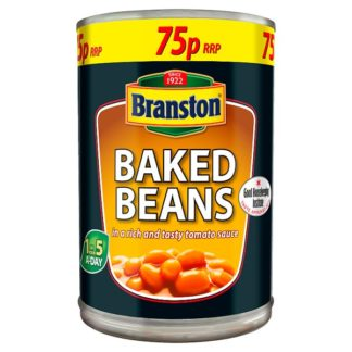 Branston Baked Beans in a Rich and Tasty Tomato Sauce 410g (Case of 12)